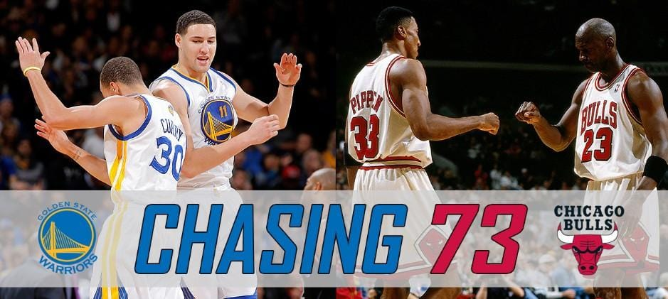 2015-16 Warriors Chasing 1995-96 Bulls - The Road to 73 Wins