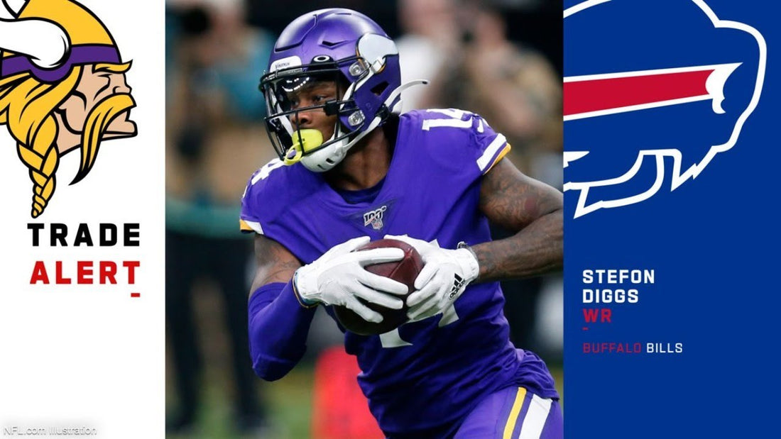 The Vikings traded Stefon Diggs to Buffalo for a 1st round pick and more.