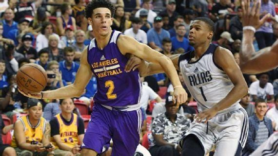 We Fly High!  Ballin'!!!  Lonzo Ball Summer League Success