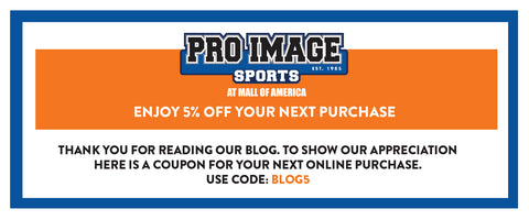 Blog Coupon by Pro Image Sports at Mall of America