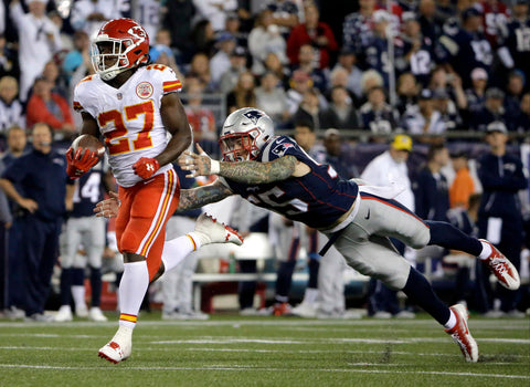 Chiefs Shock Patriots by Pro Image Sports at Mall of America