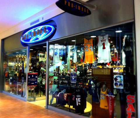 Pro Image Sports at Mall of America 2011 Storefront