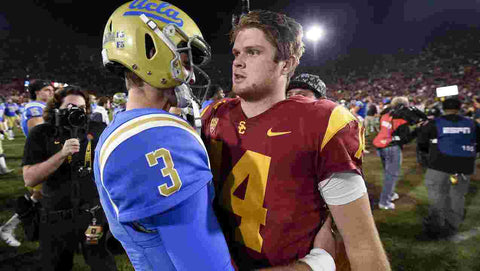 Josh Rosen and Sam Darnold NFL Draft 2018 Pro Image Sports at Mall of America