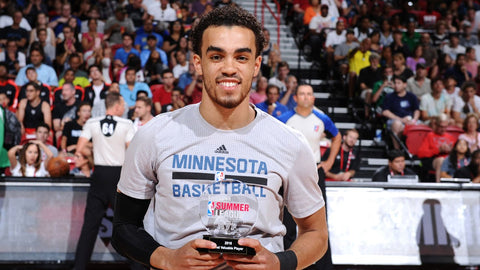Tyus Jones Minnesota Timberwolves 2016 NBA Summer League MVP