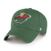 47 Brand Hats Adult One Size / Green Minnesota Wild Dark Green Legend Cap