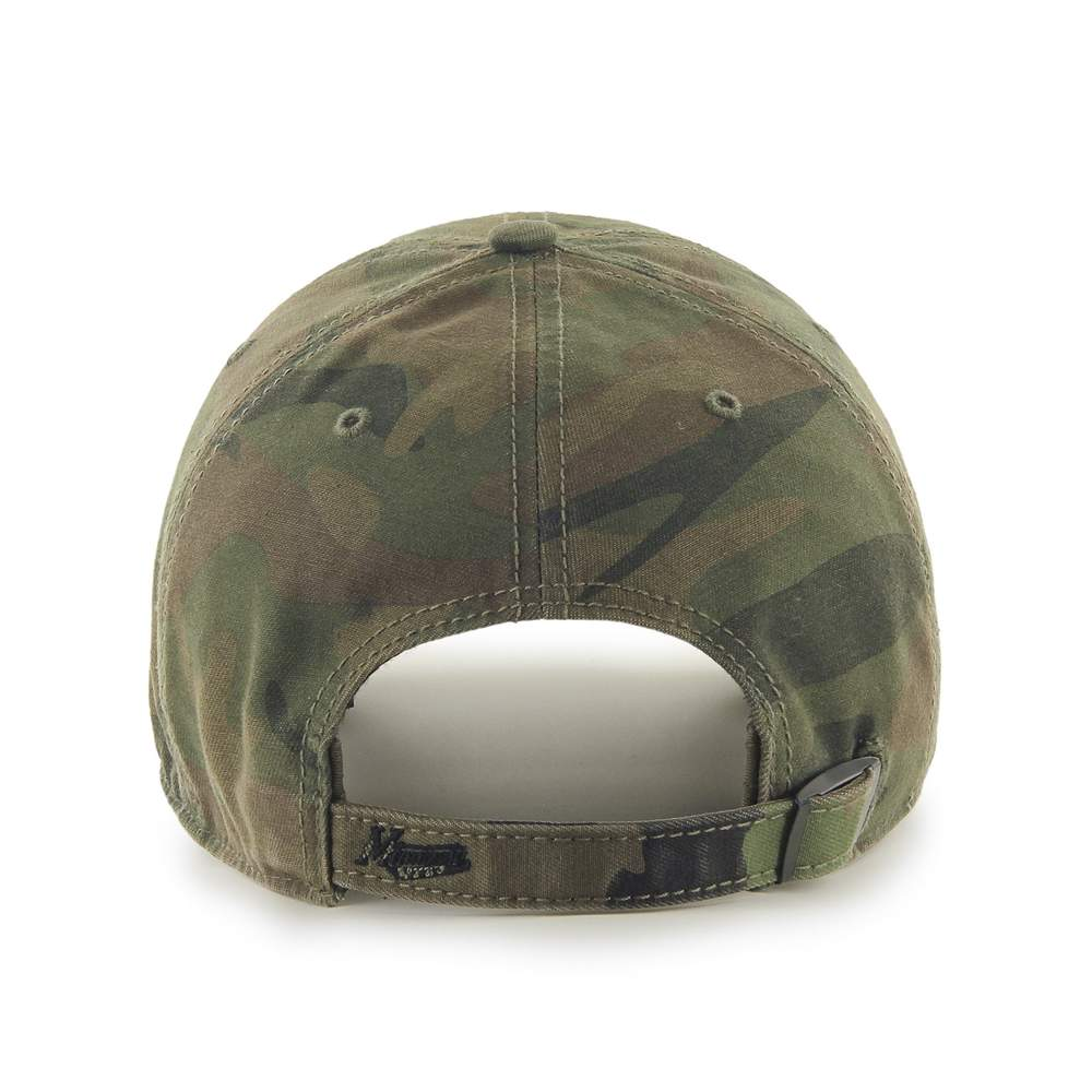 47 Brand Hats Adult One Size / Green Minnesota Wild Sandalwood Movement Camo Cap