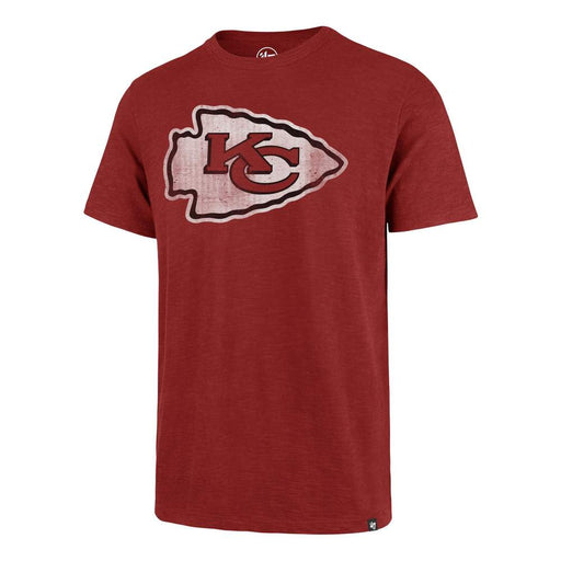 47 Brand Shirts Kansas City Chiefs Red Grit Scrum Tee