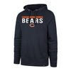 47 Brand Sweatshirts Chicago Bears '47 Power Luck Headline Hoodie