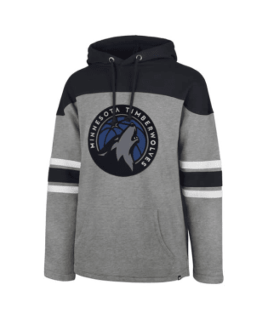 47 Brand Sweatshirts Copy of Minnesota Timberwolves Slate Grey Huron Hoodie