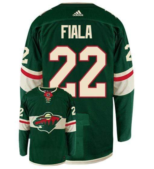 adidas Adult Jersey Men's Kevin Fiala Minnesota Wild adidas Green Authentic Player Jersey