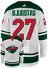 adidas Adult Jersey Nick Bjugstad Pro Authentic Minnesota Wild White Jersey -Adidas