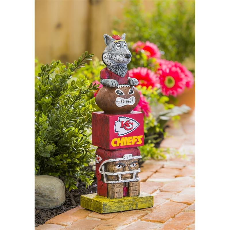 Evergreen Enterprises Novelty Kansas City Chiefs Evergreen Enterprises Tiki Totem Pole