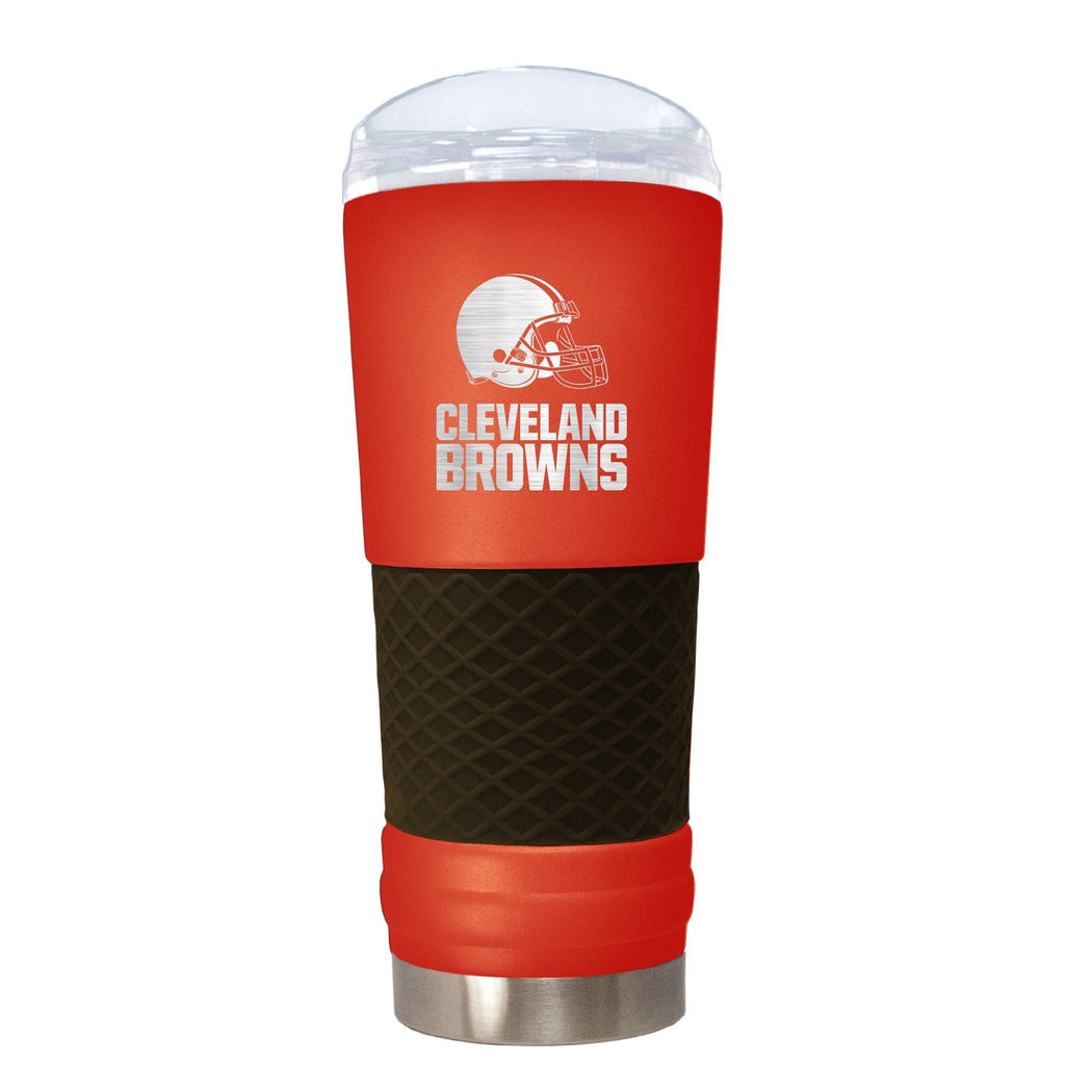 Great American Products Drinkware Cleveland Browns 18 oz. Team Colored Draft Tumbler
