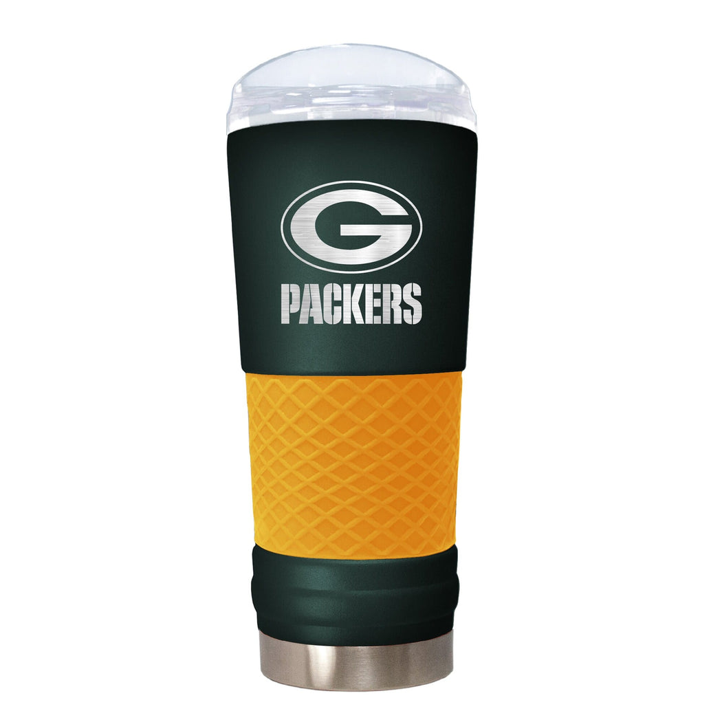 Great American Products Drinkware Green Bay Packers 18 oz. Team Colored Draft Tumbler