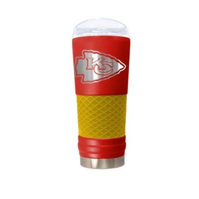 Great American Products Drinkware Kansas City Chiefs 24 oz. Team Colored Draft Tumbler