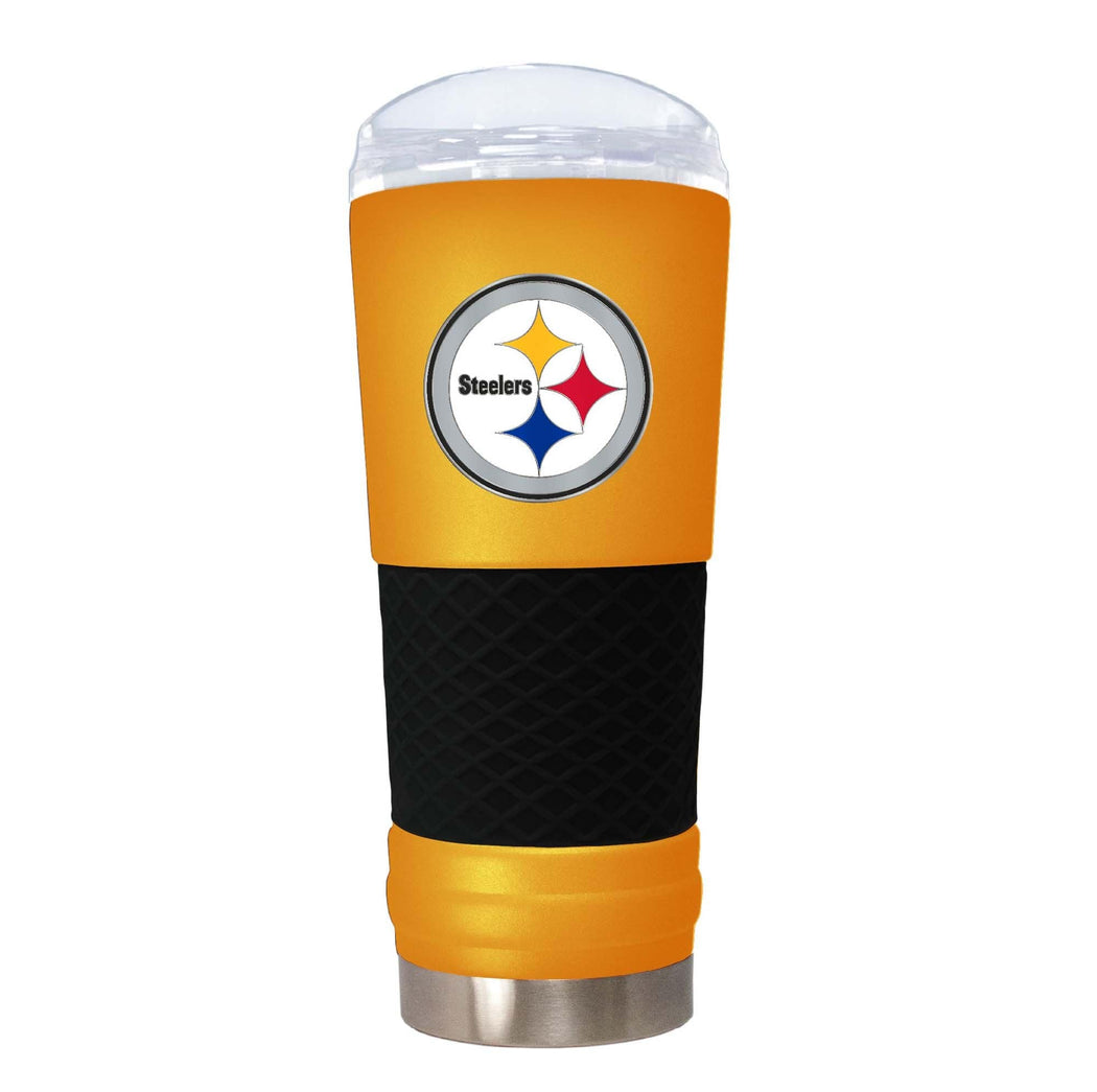 Great American Products Drinkware Pittsburgh Steelers 18 oz. Team Colored Draft Tumbler