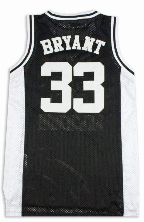 Headgear Adult Jersey Kobe Bryant Lower Merion Headgear Men's Black High School Retro Jersey