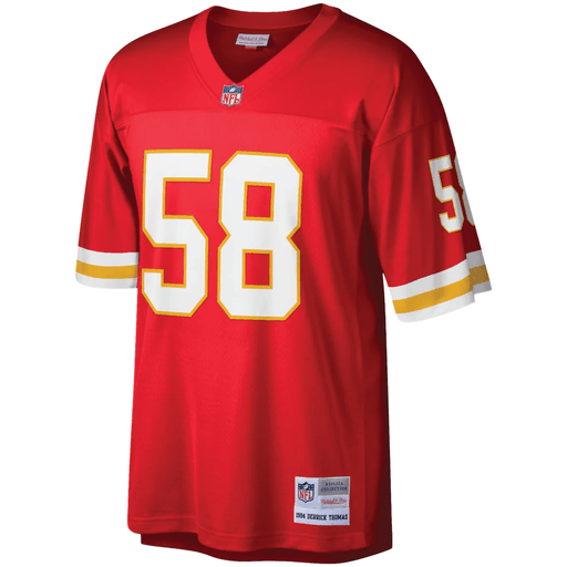 Mitchell & Ness Adult Jersey Derrick Thomas Kansas City Chiefs Mitchell & Ness NFL Red Throwback Jersey