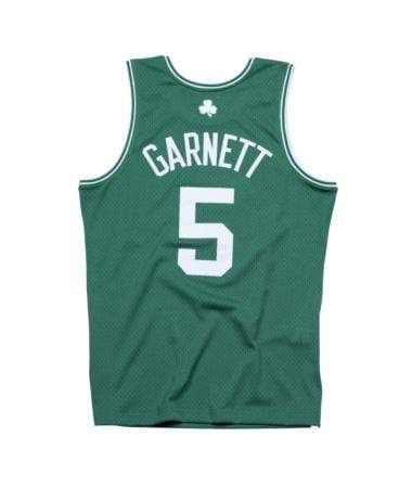 Mitchell & Ness Adult Jersey Kevin Garnett Boston Celtics Mitchell & Ness Green Throwback Swingman Jersey