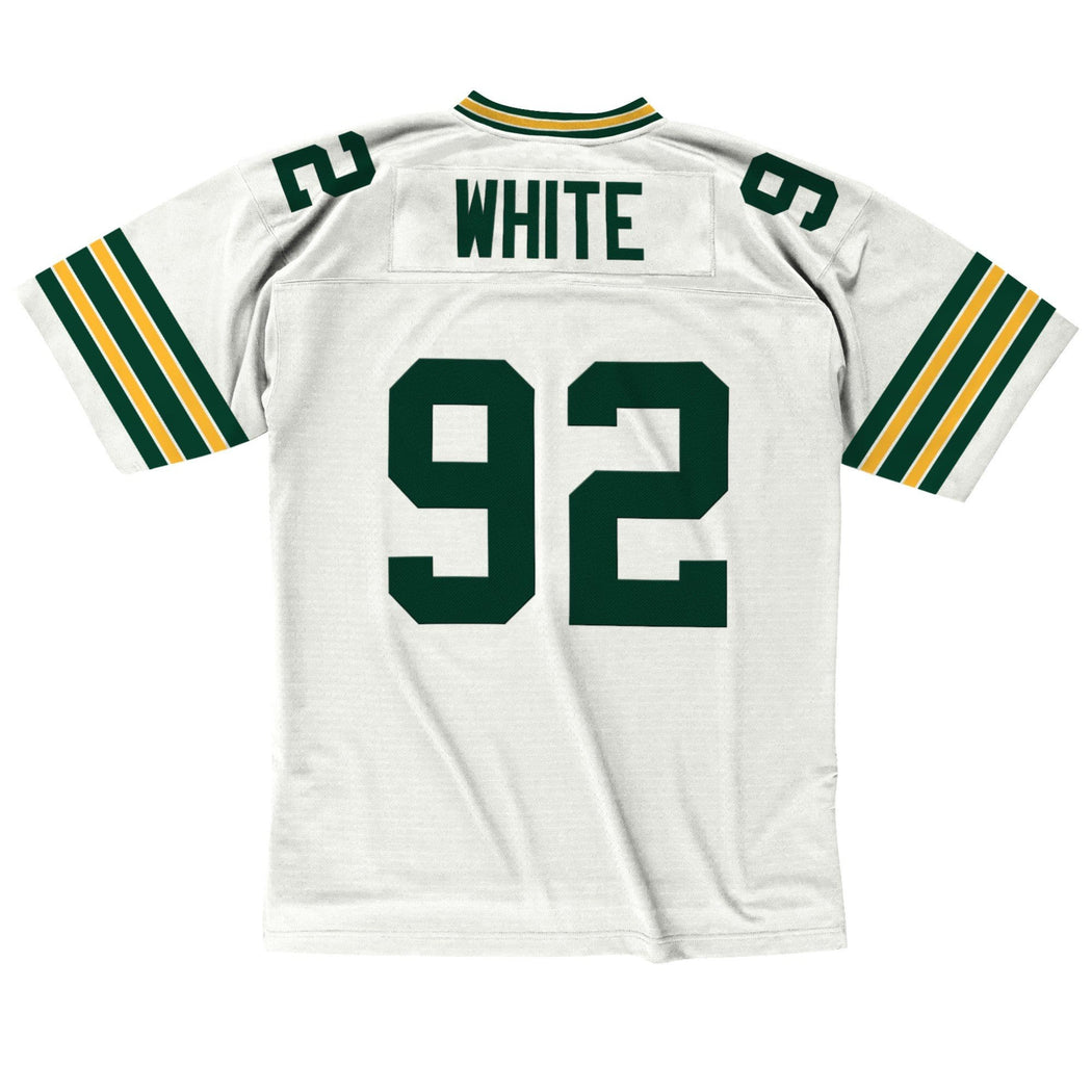Mitchell & Ness Adult Jersey Reggie White Green Bay Packers Mitchell & Ness NFL 1996 White Throwback Jersey