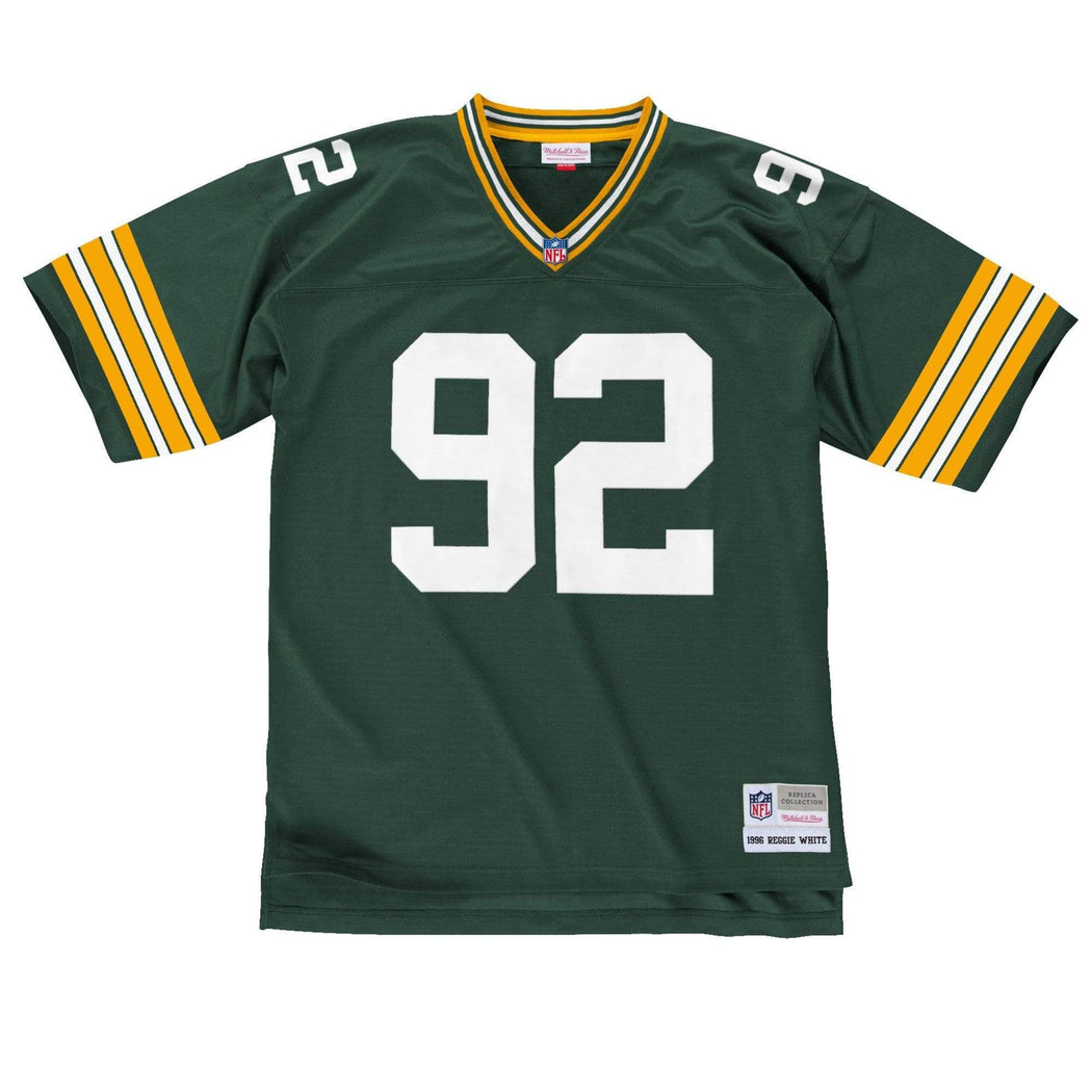 Mitchell & Ness Adult Jersey Reggie White Green Bay Packers Mitchell & Ness NFL Green Throwback Jersey