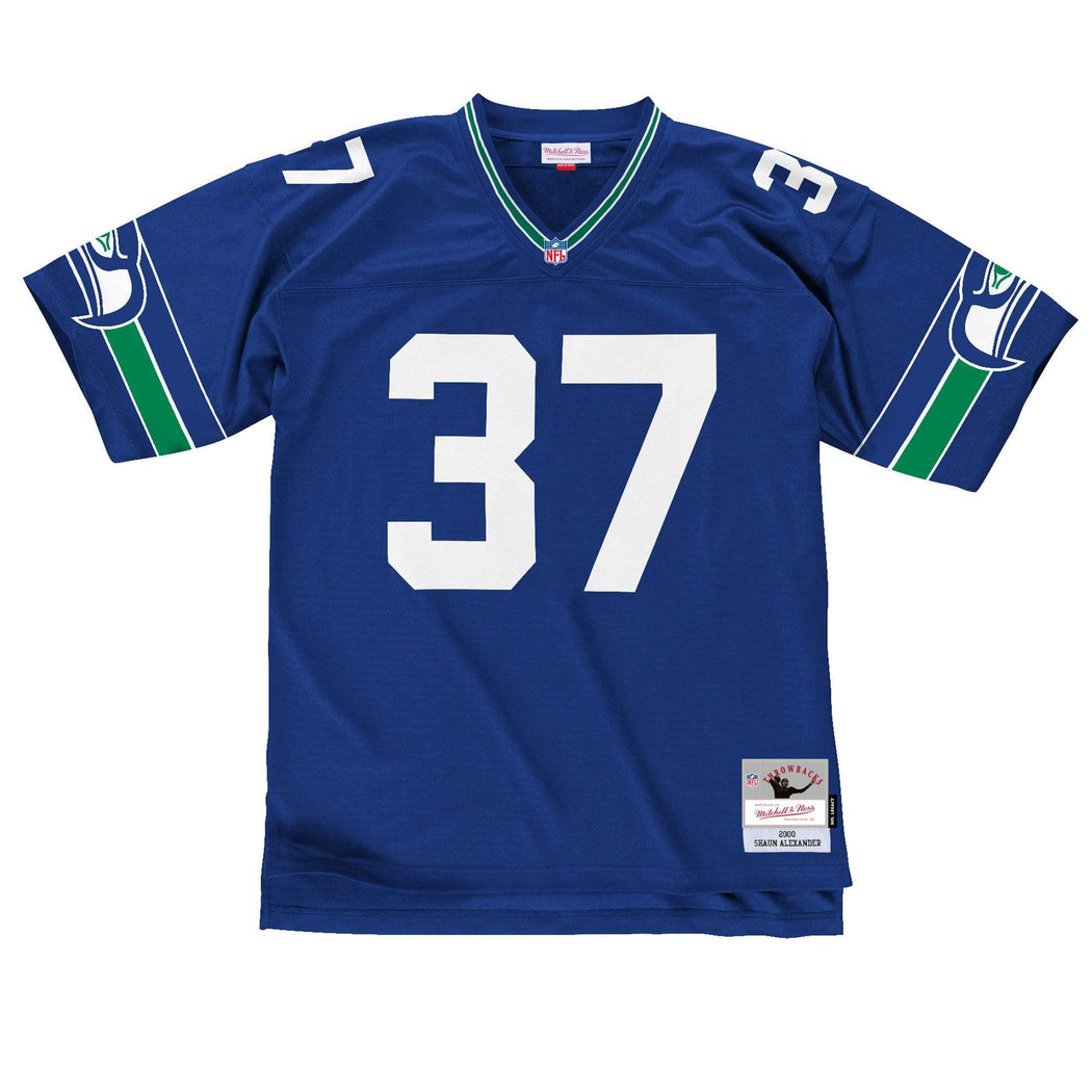 Mitchell & Ness Adult Jersey Sean Alexander Seattle Seahawks Mitchell & Ness NFL 2000 Royal Throwback Jersey