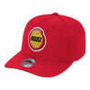 Mitchell & Ness Hats Adjustable / Red Houston Rockets Team Ground Classic Redline Red Snapback Hat