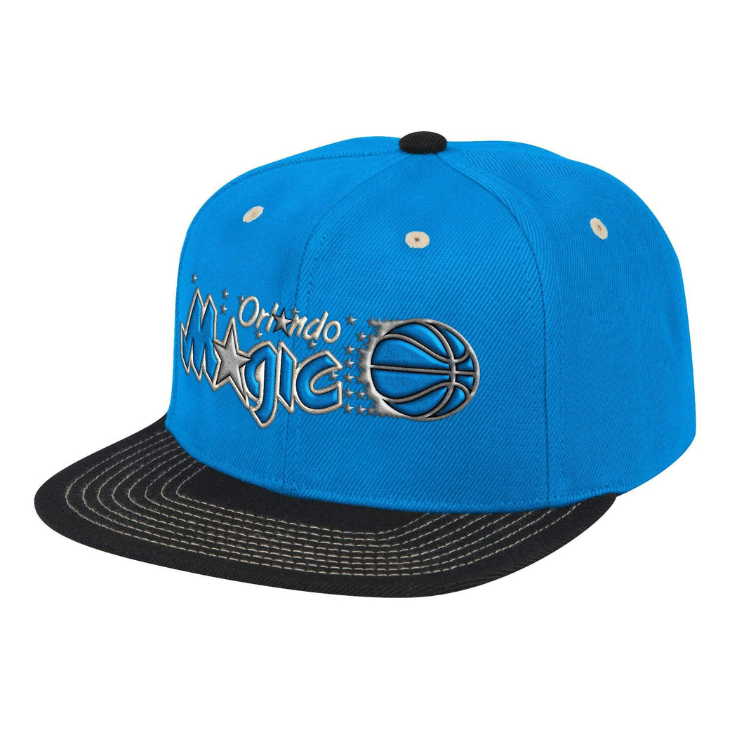 Mitchell & Ness Hats Adjustable / Royal Blue Orlando Magic Classic Contrast Stitch Snapback Hat - Royal Blue