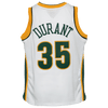 Mitchell & Ness Youth Jersey Youth Kevin Durant Seattle Supersonics Mitchell & Ness NBA 2008 White Throwback Jersey