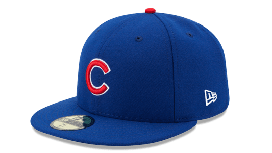 New Era Hats Chicago Cubs New Era Royal Authentic Collection On Field 59FIFTY Fitted Hat