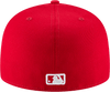 New Era Hats New York Yankees New Era Red and White Collection 59FIFTY Fitted Hat