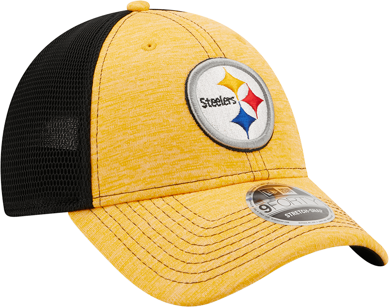 New Era Hats One Size / Gold/Black Pittsburgh Steelers Flex Adjustable 9Forty Hat