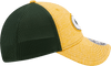 New Era Hats One Size / Gold/Green Green Bay Packers Flex Adjustable 9Forty Hat by New Era