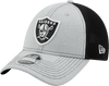 New Era Hats One Size / Gray/Black Las Vegas Raiders Flex Adjustable 9Forty Hat
