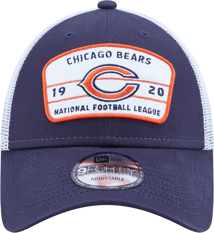 New Era Hats One Size / Navy Chicago Bears New Era Navy/White Loyalty Trucker 9FORTY Snapback Hat