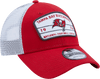 New Era Hats One Size / Red Tampa Bay Buccaneers New Era Red/White Loyalty Trucker 9FORTY Snapback Hat