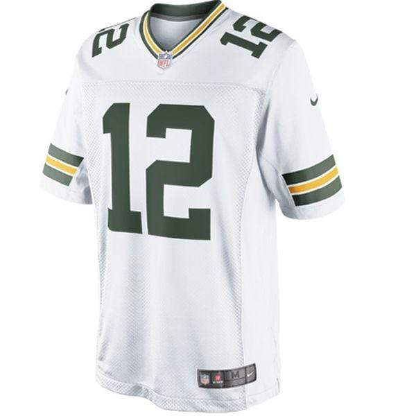 Nike Adult Jersey Aaron Rodgers Green Bay Packers Nike Men's White Limited Jersey