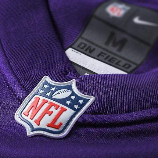 Nike Adult Jersey Adam Thielen Minnesota Vikings NFL Nike Purple Game Jersey