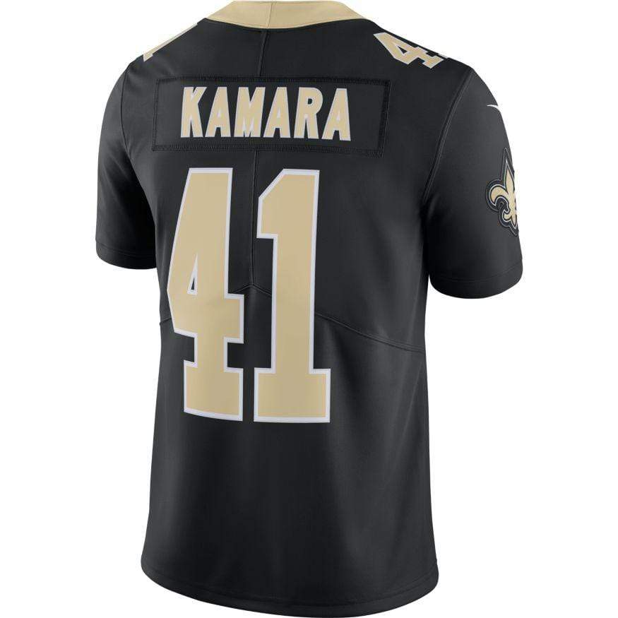 Nike Adult Jersey Alvin Kamara New Orleans Saints Nike Men's Black Limited Jersey