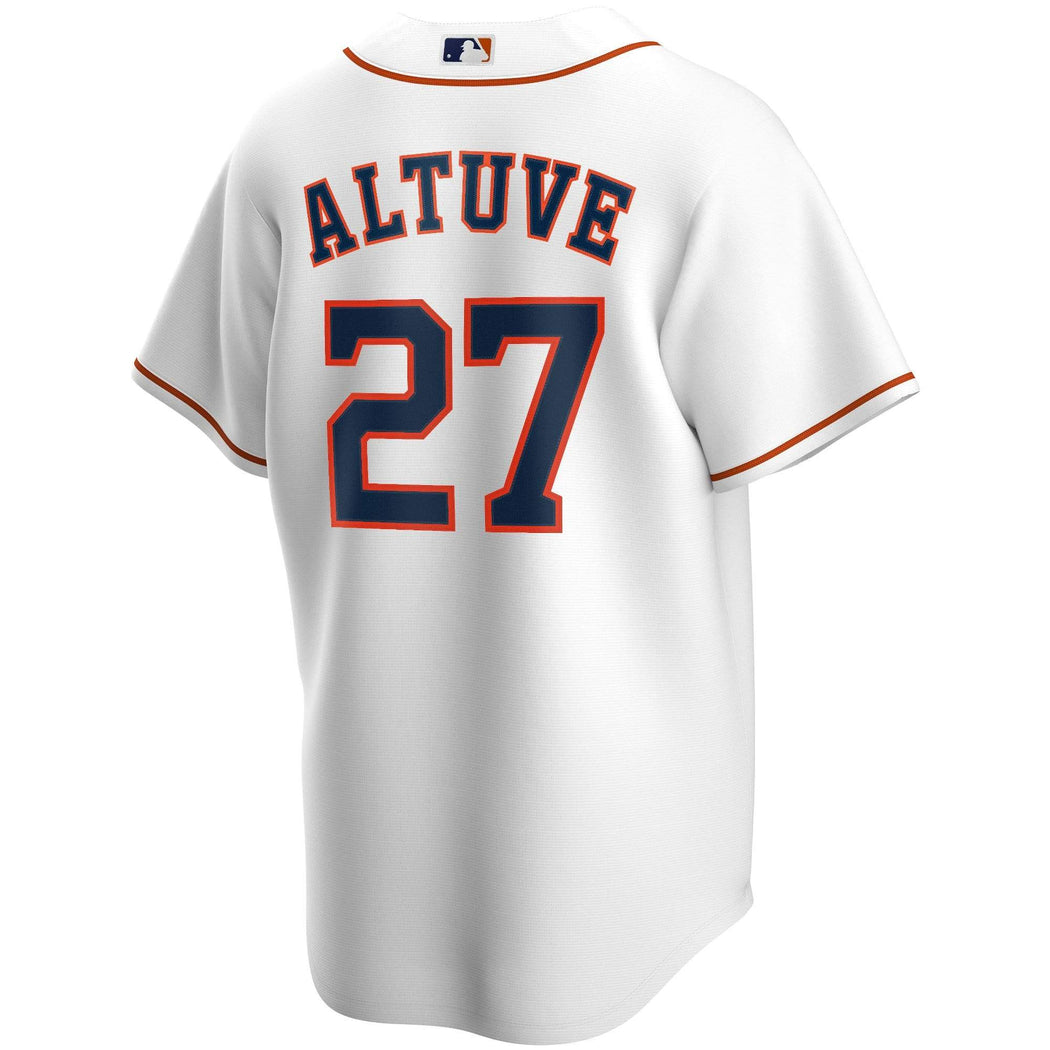 Nike Adult Jersey Jose Altuve White Home 2020 Replica Player Jersey
