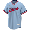 Nike Adult Jersey Kirby Puckett Minnesota Twins Nike MLB Light Blue Throwback Jersey