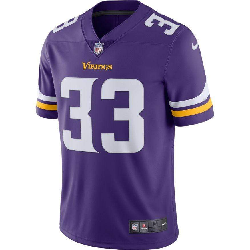 Nike Adult Jersey Men's Dalvin Cook Minnesota Vikings Nike Purple Limited Jersey
