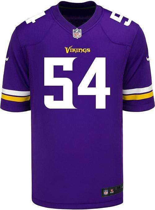 Nike Adult Jersey Men's Eric Kendricks Minnesota Vikings Nike Purple Game Jersey