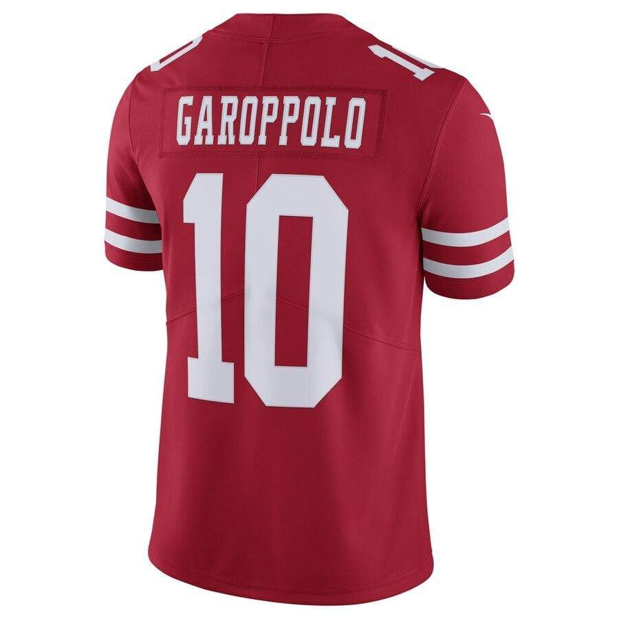 Nike Adult Jersey Men's Jimmy Garoppolo San Francisco 49ers Nike Red Limited Jersey