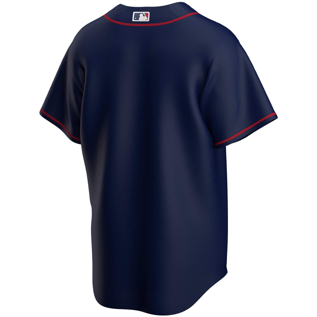 Nike Adult Jersey Men's Minnesota Twins Nike Navy Blue 'Minnesota' Alternate Blank Jersey