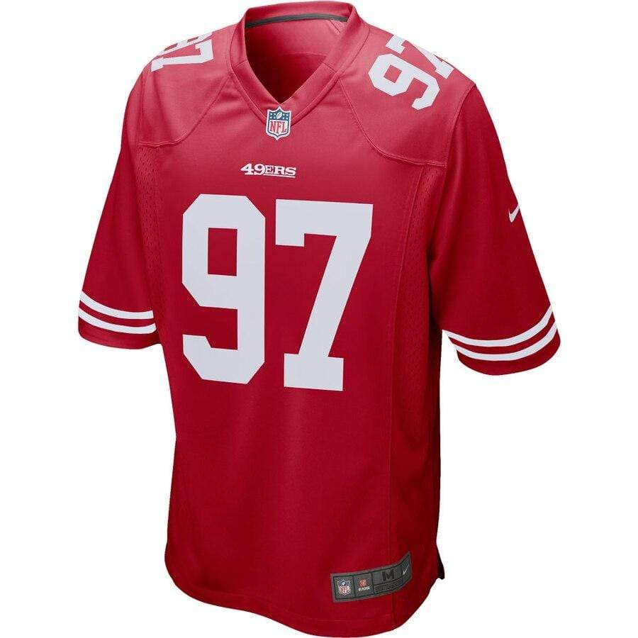 Nike Adult Jersey Nick Bosa San Francisco 49ers Nike Men's Red Game Jersey