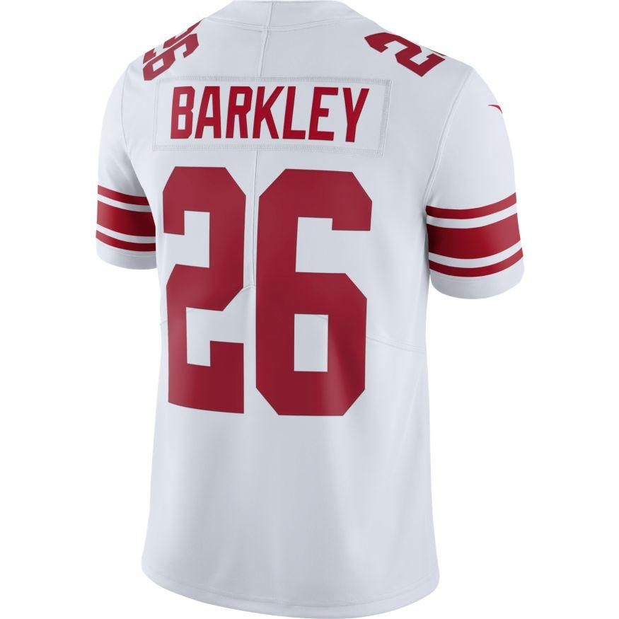 Nike Adult Jersey Saquon Barkley New York Giants Nike Men's White Limited Jersey
