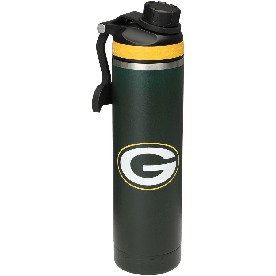 ORCA Novelty Green Bay Packers ORCA 22oz. Hydra Color Logo Water Bottle