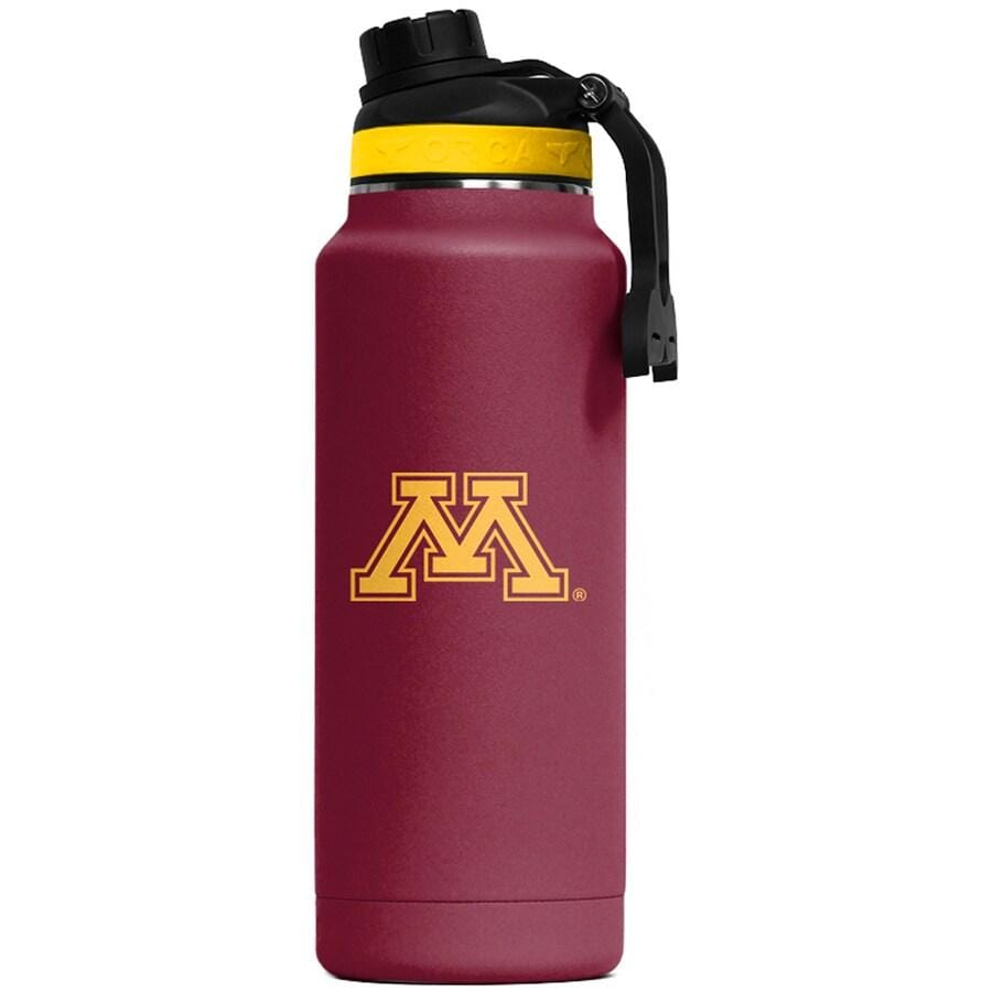 ORCA Novelty Minnesota Golden Gophers ORCA Large 34oz. Hydra Color Logo Water Bottle