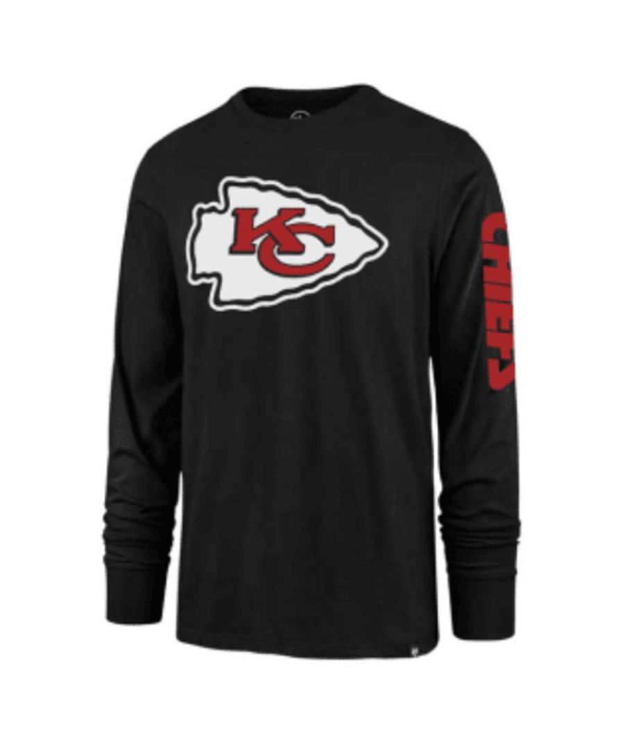 Pro Image Sports at the Mall of America Kansas City Chiefs Jet Black Team Super Rival Long Sleeve T-Shirt